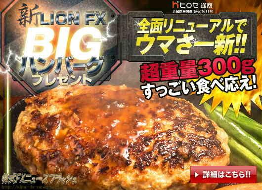 ヒロセ通商 キャンペーン ハンバーグ