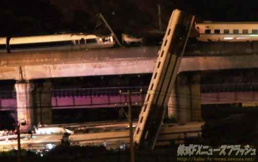 中国 新幹線 高速鉄道 列車事故 D3115 和諧号