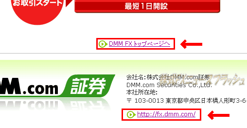 DMM.com証券 DMM FX DMM会員登録 バーチャル取引 バーチャルFX デモ取引