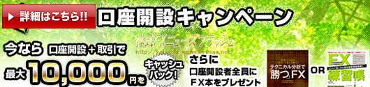 FXプライム キャンペーン キャッシュバック 10000円
