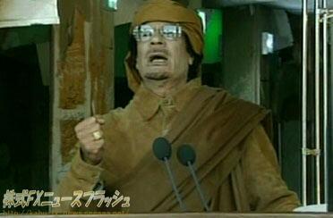 カダフィ大佐 Qadhafi Gaddafi