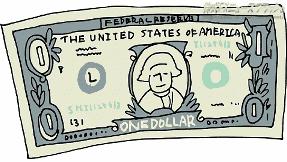 1ドル紙幣 1ドル札