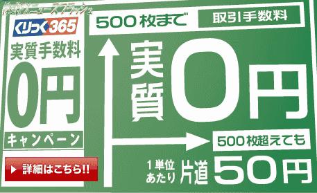 リテラFX365 くりっく365 手数料無料 キャンペーン